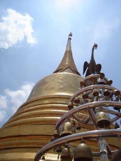 Chedi - Golden Mount und Wat Saket