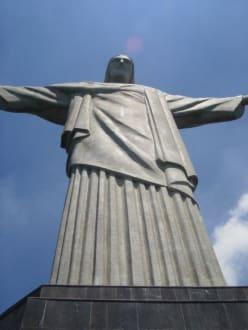 Statue auf dem Corcovado - Christusstatue Cristo Redentor