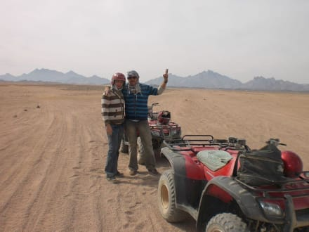Beim Quard - Quad Tour Hurghada