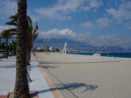Strand - Strandpromenade Albir