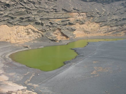 Grüne Lagune - Charco de los Clicos / Grüner See