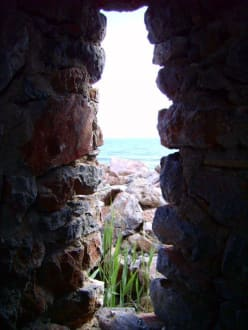 Nische im Gemäuer - Mamure Kalesi (Burg von Anamur)