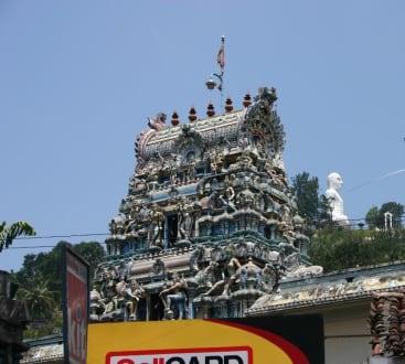 Tamil Temple in Kandy - Bahiravakanda Buddha