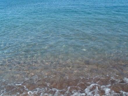 Das Meer ist sauber! - Strand Faliraki