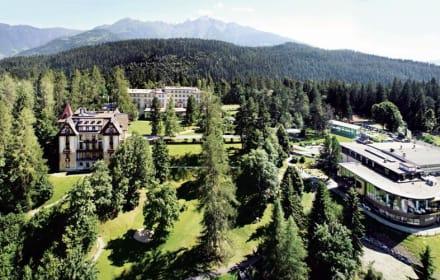 Sommerpanorama Waldhaus Flims - Waldhaus Flims Mountain Resort & Spa - Grand Hotel Waldhaus