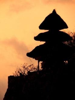 Sonnenuntergang - Uluwatu Tempel