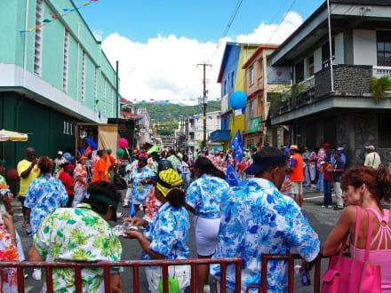 Carneval in Roseau - Karneval Roseau