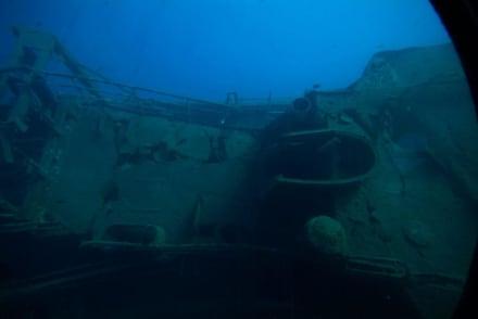 Schiffswrack - U-Boot Tour Yellow Submarine Puerto de Mogán
