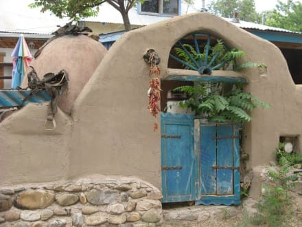 Hauseingang in Chimayo - Santuario de Chimayó