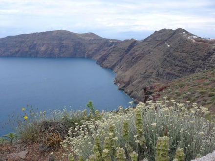 Kraterwanderung - Kraterwanderung Thira