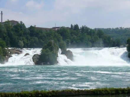 Ausblick auf den Rheinfall - Rheinfall von Schaffhausen