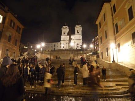 Sonstige Sehenswürdigkeit - Piazza di Spagna & Spanische Treppe