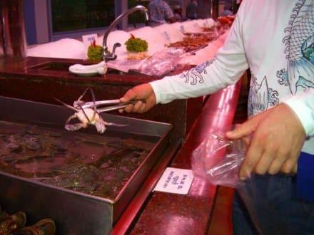 Rein in die Tüte - Seafood Market