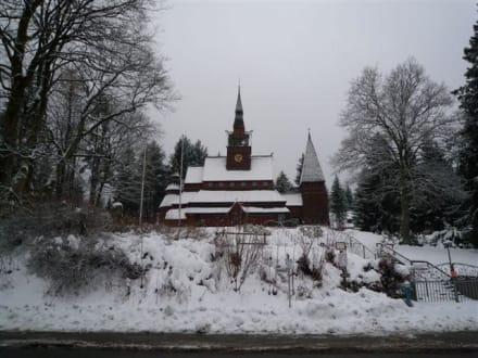 Nordische Stabkirche - Stabkirche - Gustav Adolf Kirche