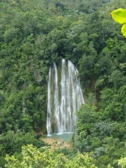 Fluss/See/Wasserfall - Wasserfall Saltos de Limon