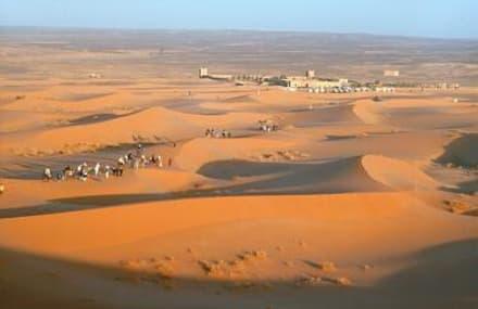 Marokko -  Wüste - Dünen Erg Chebbi
