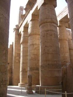 Säulenhalle von Karnak - Amonstempel Karnak