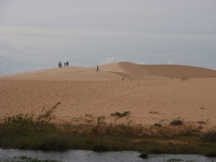 Wie in der Sahara - Sanddünen
