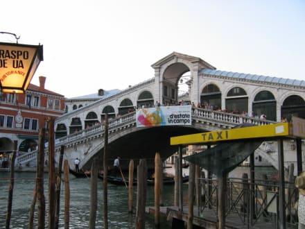 Rialto Brücke Venedig - Rialtobrücke