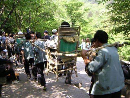Träger - Huangshan Berge
