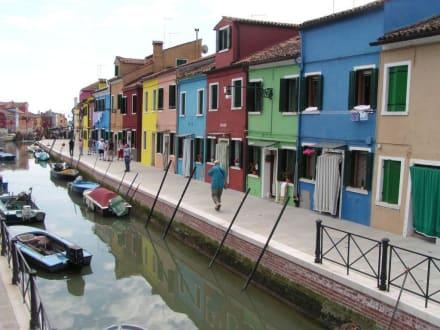 Bunte Häuser in Burano 2 - Insel Burano