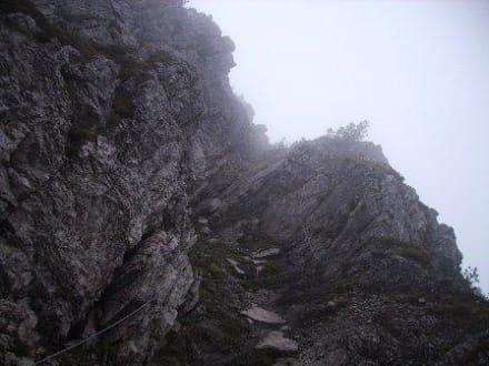 Klettersteig Oberjoch : Allgäu erleben salewa klettersteig am iseler