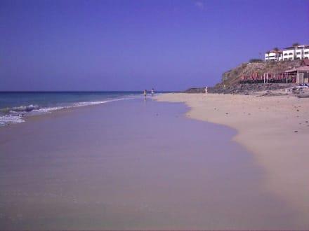 Der Strand Richtung Jandia - Strand Playa de Esquinzo / Playa de Butihondo