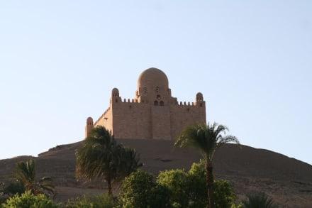 Assuan, Mausoleum des Aga Khan - Mausoleum des Aga Khan