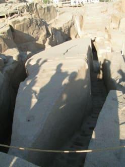 unvollendeter Obelisk - Steinbruch - Unvollendeter Obelisk