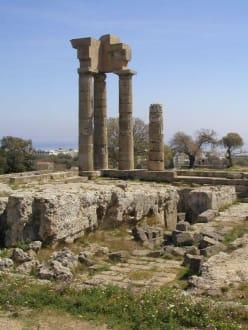 Apollon-Tempel - Akropolis von Rhodos (Monte Smith Hill)