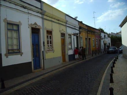 Alte Häuserzeile - Altstadt Faro