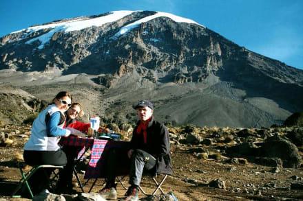 Kilimanjaro, Karanga Camp - Kilimanjarobesteigung