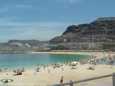 Strand von Amadores - Strand Playa de Amadores