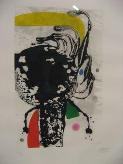 Kunst von Miró im Bahnhof Soller - Kunstausstellung Sala Picasso y Sala Miro