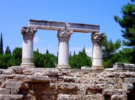 Octavia Tempel von Korinth - Das antike Korinth