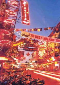 Pattaya by night - Nightlife in Pattaya