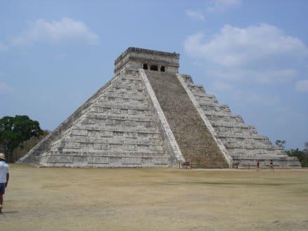 Tempel von Chitzen-Itza - Ruine Chichén Itzá