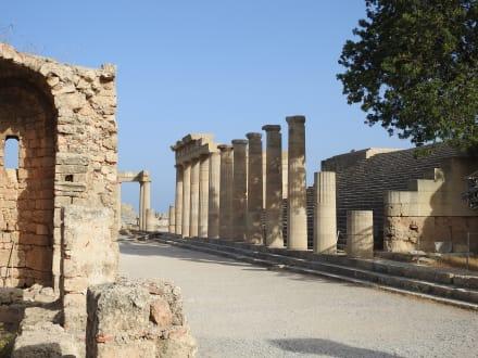 Lindos Akropolis - Akropolis von Lindos