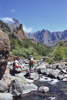 In der Caldera - Rio Taburiente