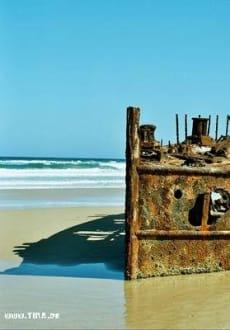 Fraser Island-Wrack - Fraser Island