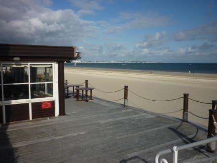 Strandrestaurant - Hotel Hermitage Barriere