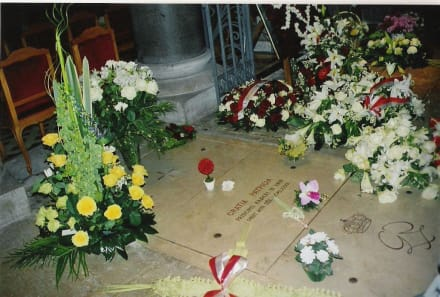 Grabstätte Gratia Patricia - Grabstätte von Gratia Patricia
