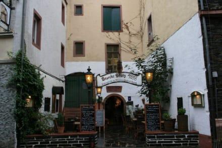 Restaurant in ehemaligen Weinkellern - Kellerschänke Storcke Stütz