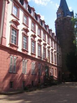 Der Innenhof des Schlosses. - Schloss Erbach