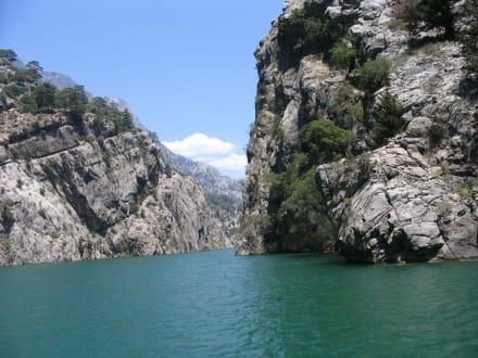 Traumhafte Landschaft - Oymapinar Baraji/ Stausee Green Lake & Green Canyon