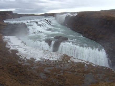 Gullfoss Wasserfall - Gullfoss Wasserfall