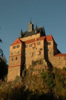 Außenansicht - Burg Kriebstein