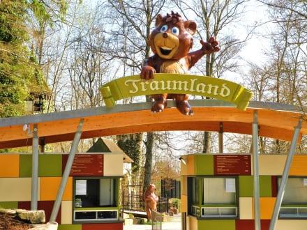 Eingang - Freizeitpark Traumland