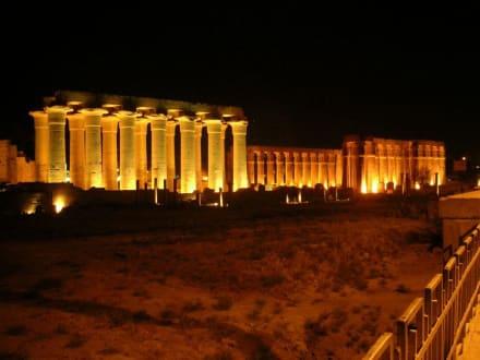 Luxor - Tempel bei Nacht - Luxor Tempel