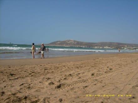 Blick auf den Atlantik - Strand Agadir